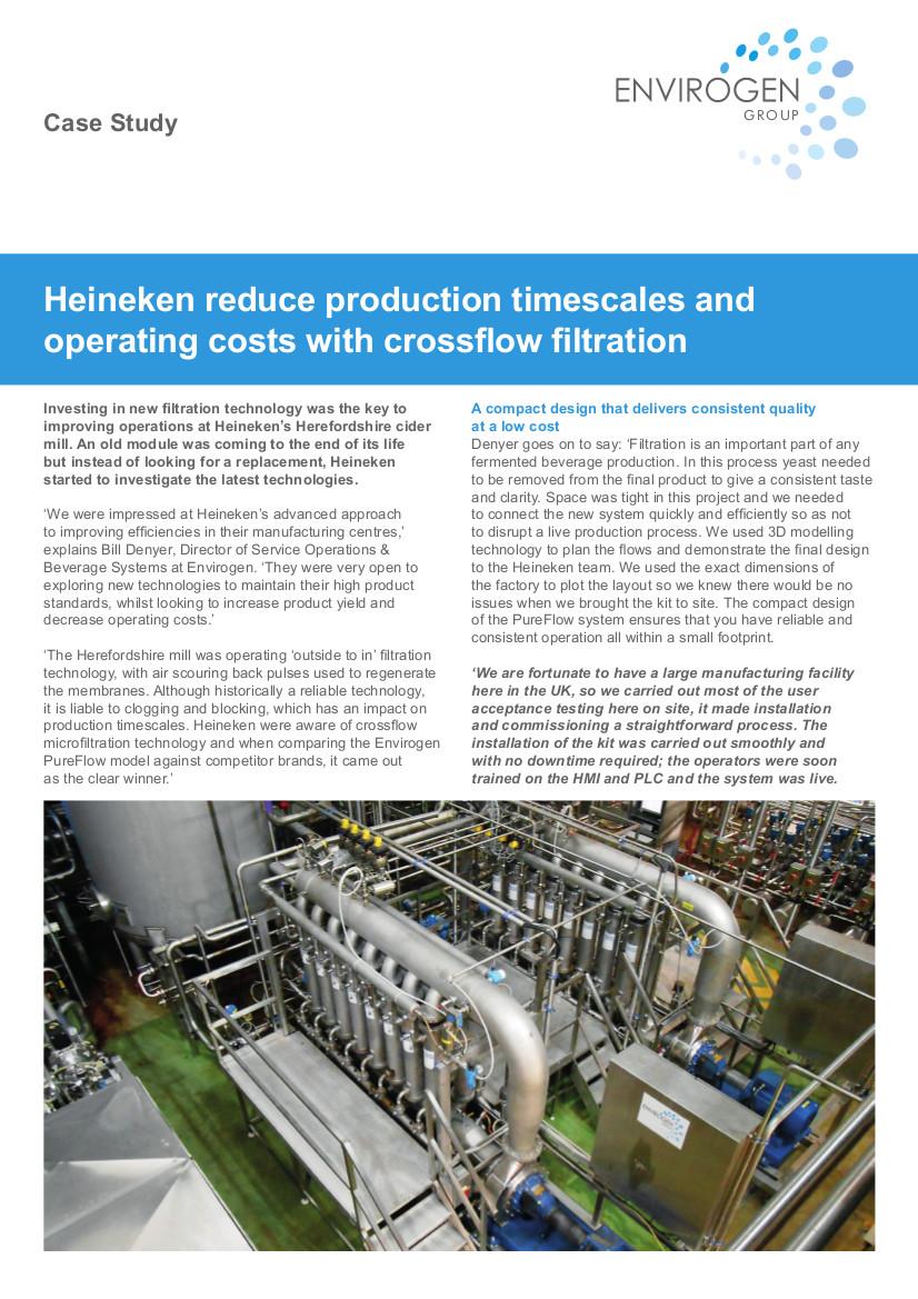 Case Study - Heineken Crossflow