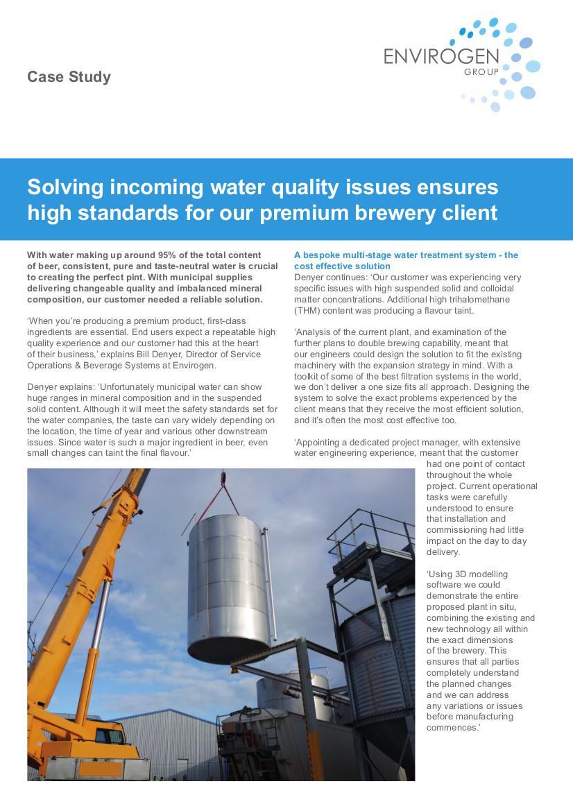 Case Study - Premium Brewer