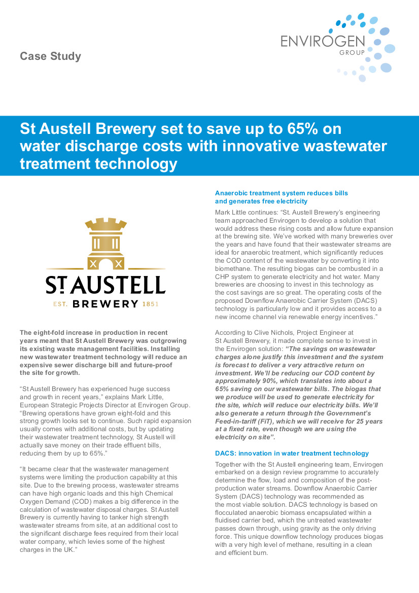 Case Study - St Austell