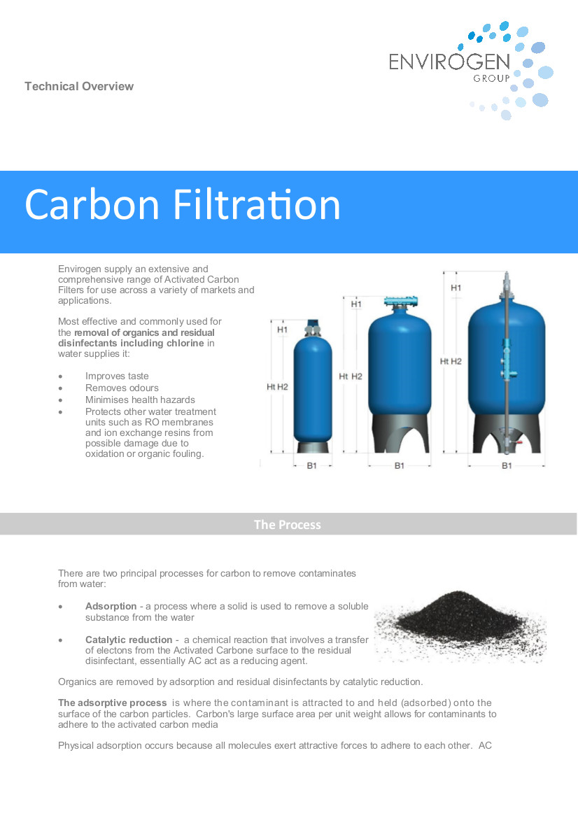 Carbon Filtration - New