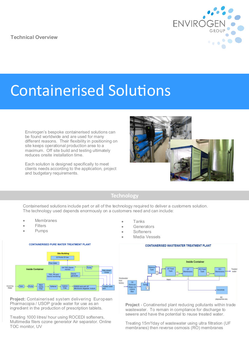 Containerised Solutions - New