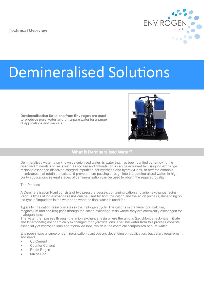 Demineralisation-new