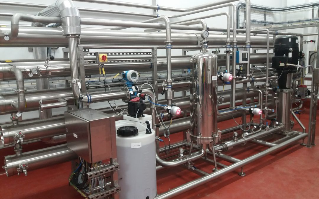 Creating hygienic process water for Coca-Cola's key product lines in Edmonton
