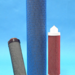 Oil adsorption filter cartridges