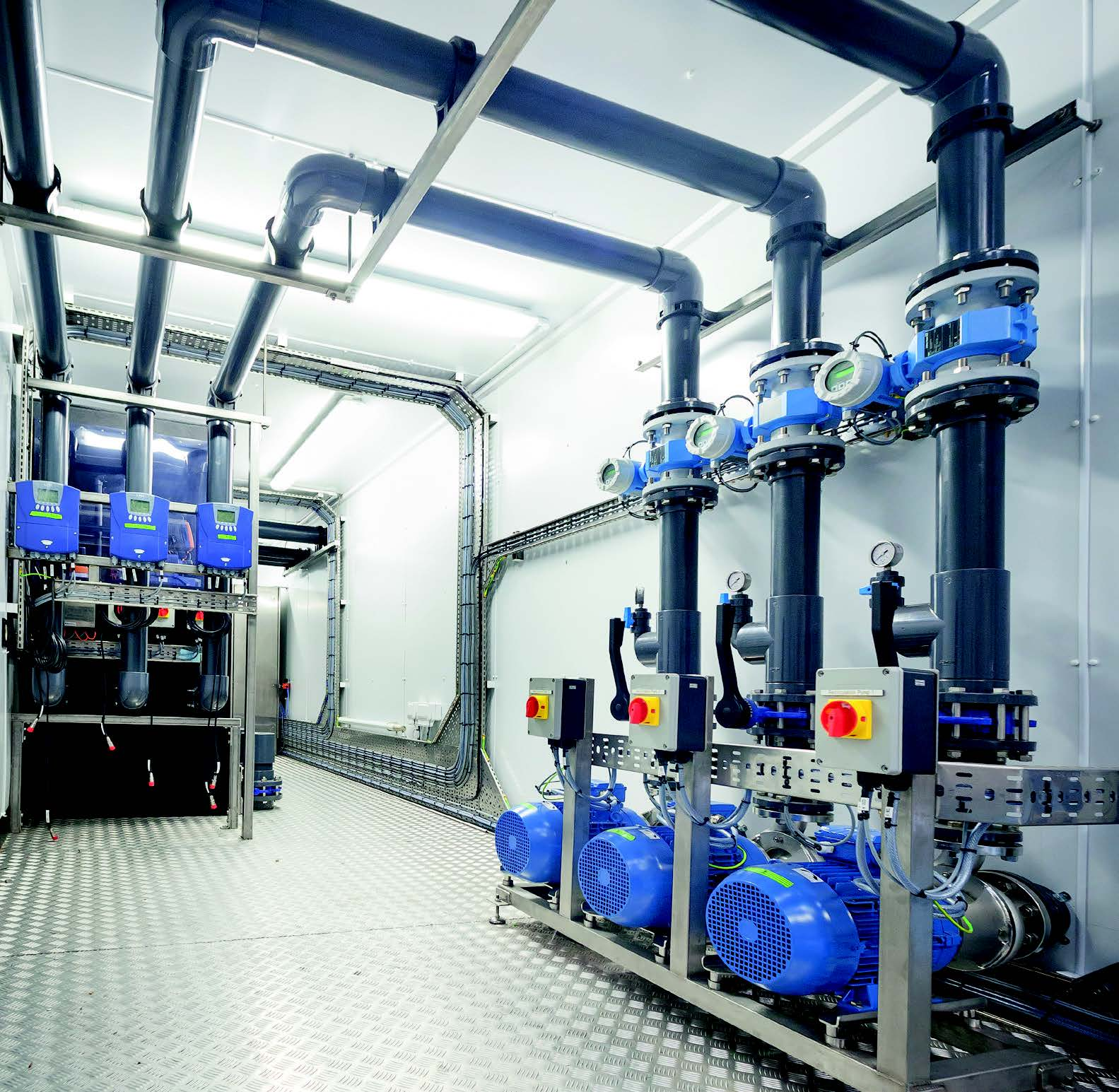 water recovery plant