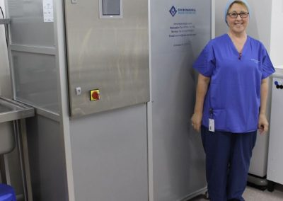 Increased Endoscope Decontamination Capacity Achieved at Fairfield Independent Hospital, St Helens