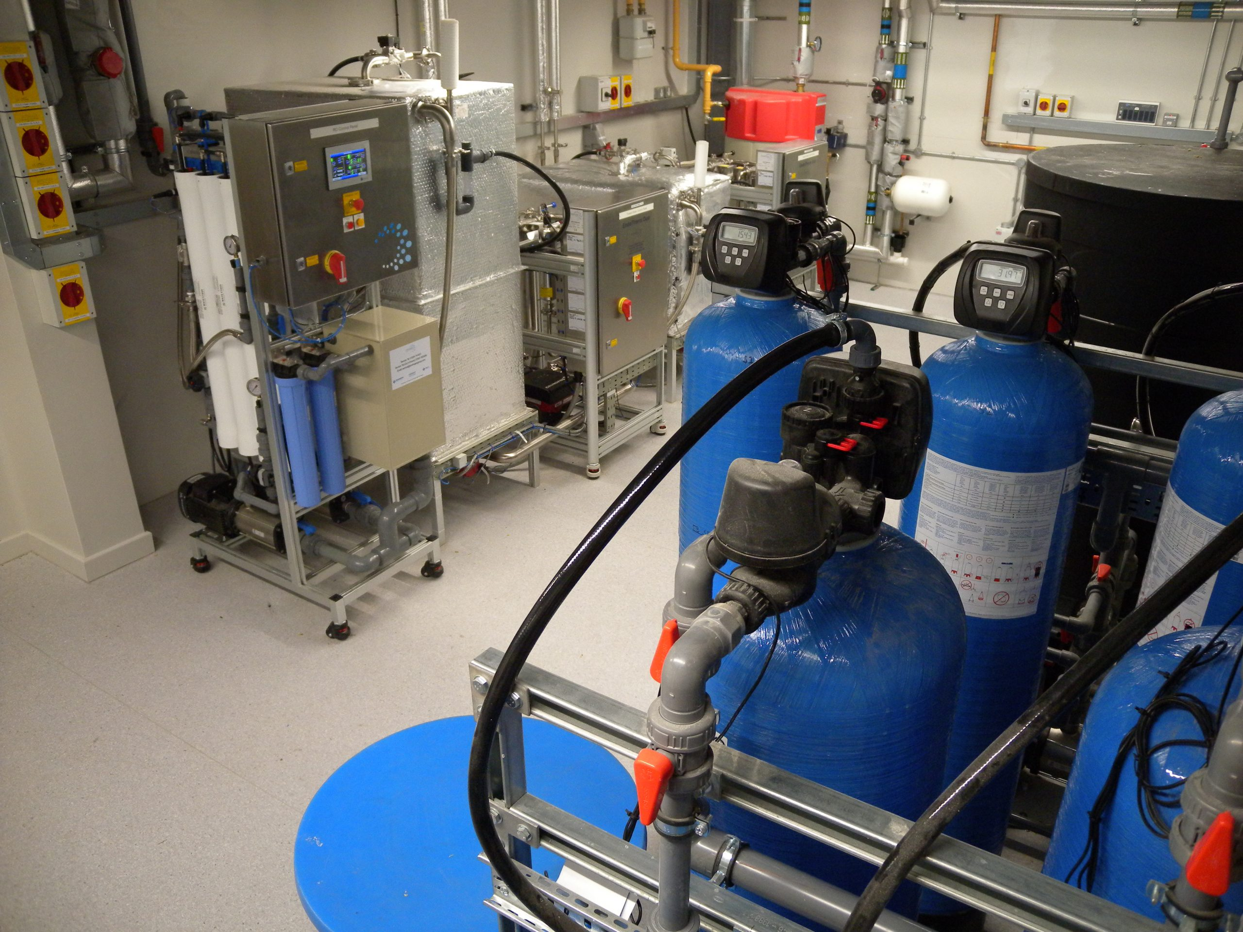 RO system at Pinderfields Hospital