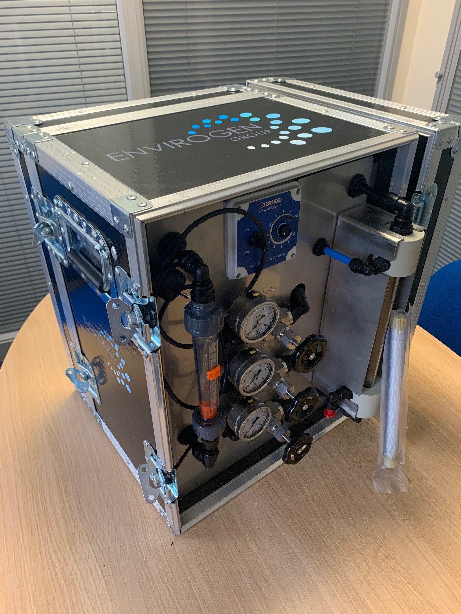 ultrafiltration pilot plant