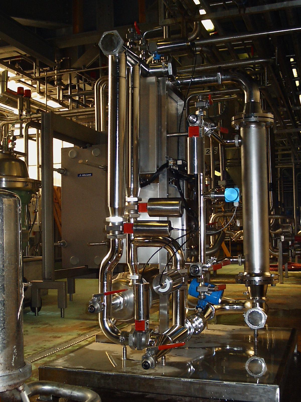 microfiltration pilot plant