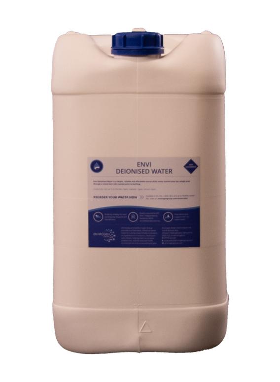 Envi Deionised Water 25L