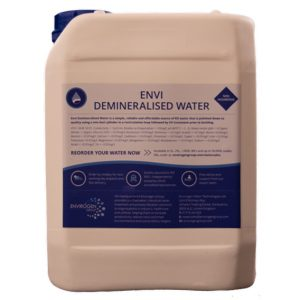 Envi Demineralised Water 5L
