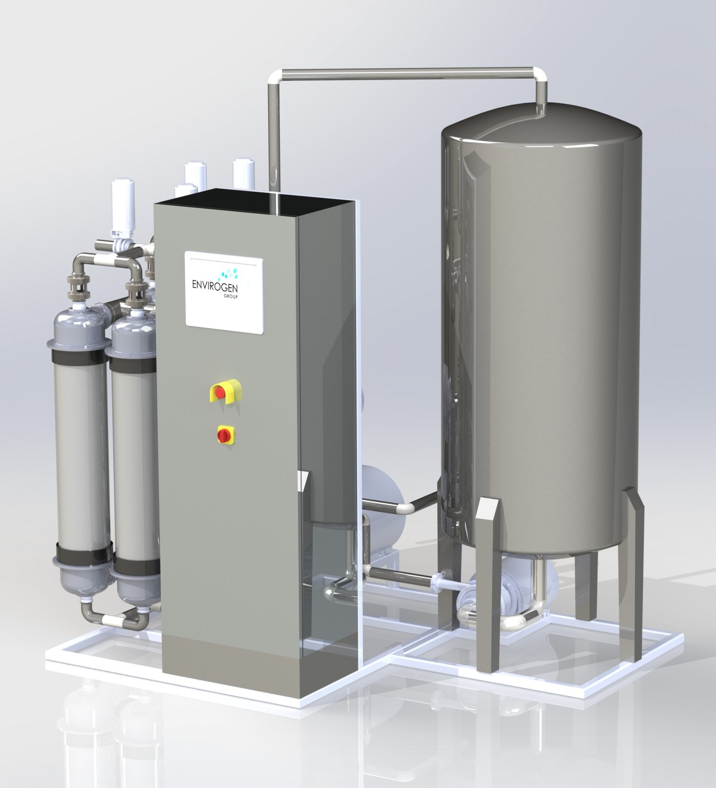 Feed and Filtrate Tanks