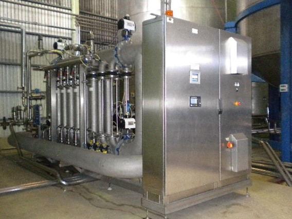 PureFlow 16-module membrane filtration system