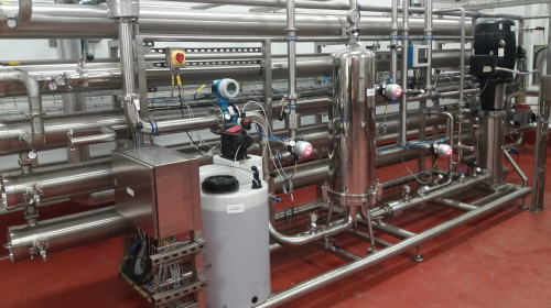 CCEP reverse osmosis system