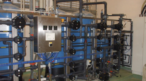 Crown reverse osmosis system