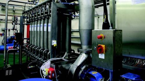 Heineken/Bulmers crossflow microfiltration