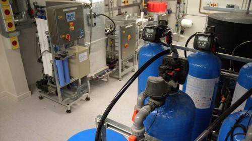 Pinderfields hospital reverse osmosis system