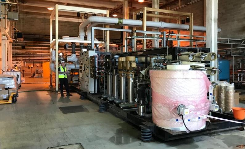 Plessey ultra-pure water systems