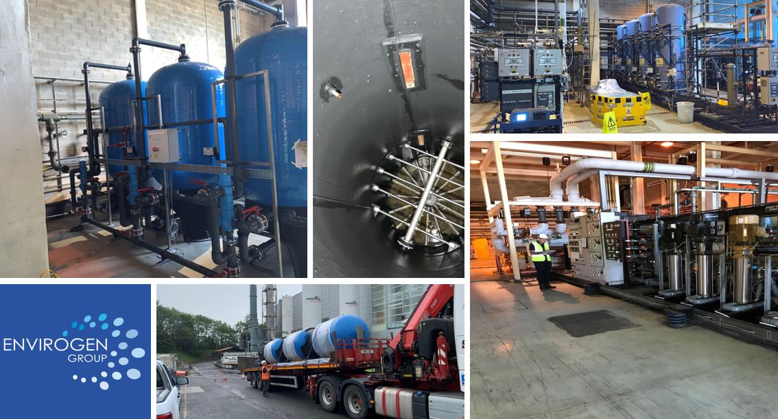 Ultra-pure water systems refurb - Plessey