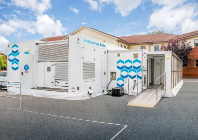 Envirogen Group's purified water solutions power mobile units to slash hospital waiting times