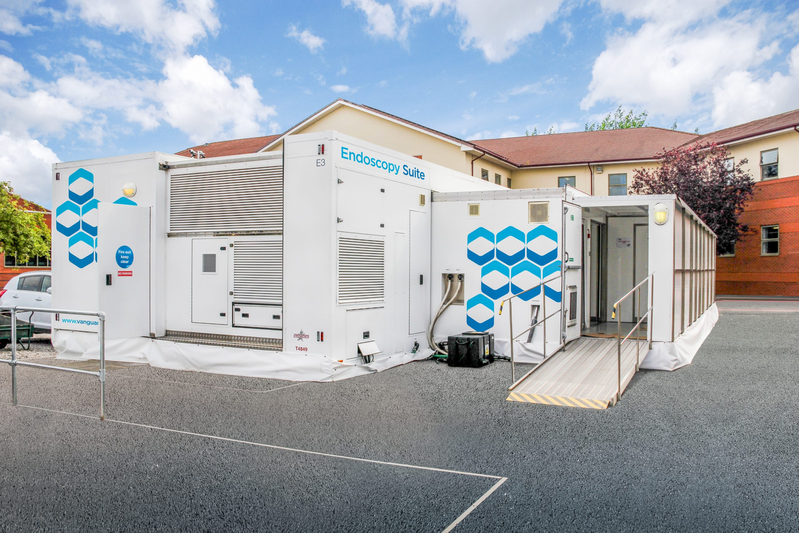 Vanguard endoscopy suite purified water solutions
