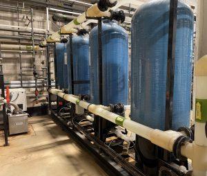Water treatment plant refurbishment