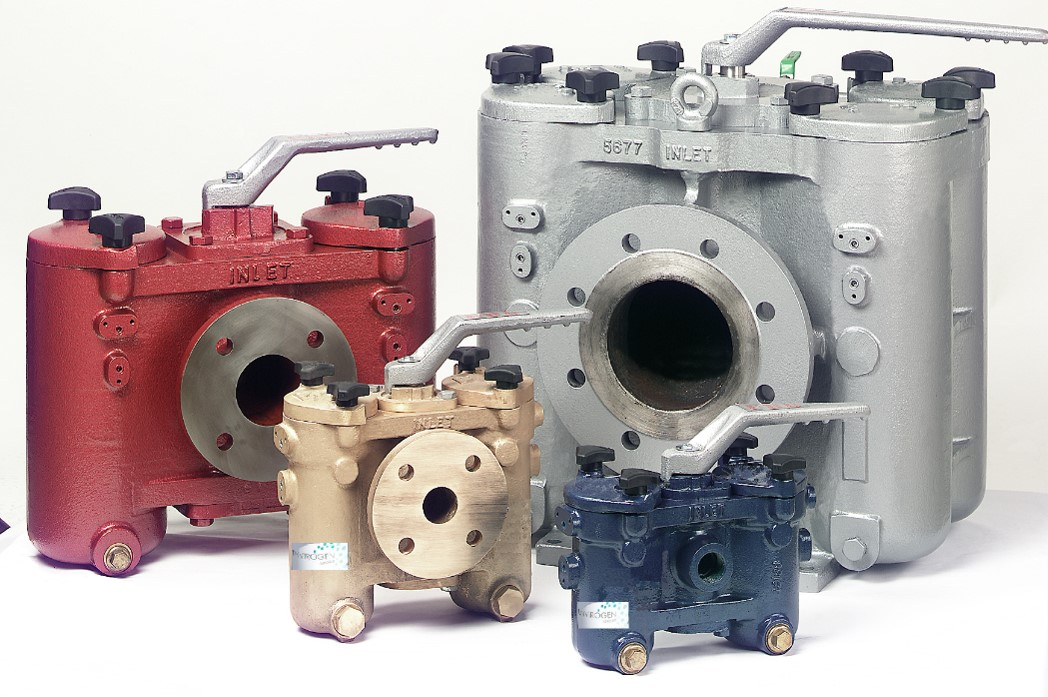 Manual duplex strainers are robust in design