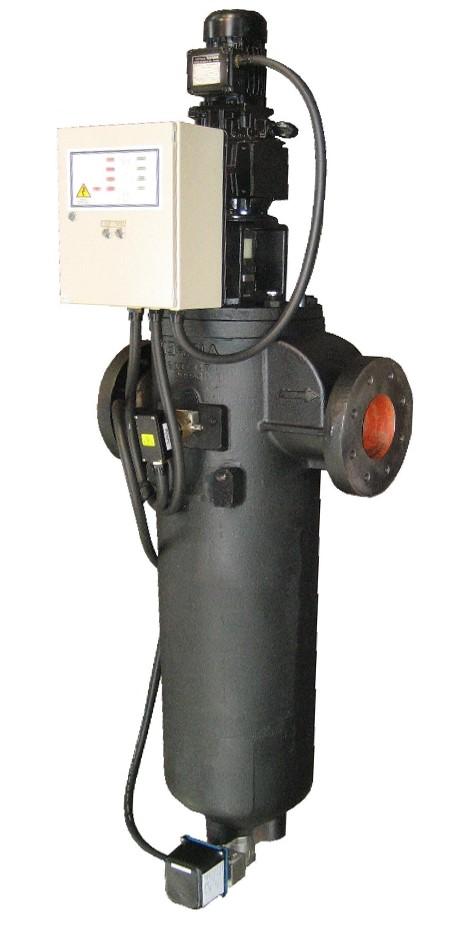 Filtri raschiatori: pressione standard