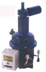 Electric self-cleaning filter (L connector)